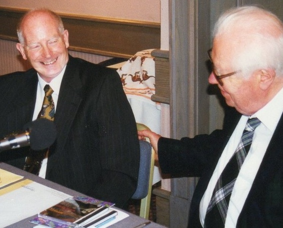David Ades and Robert Farnon in 1997