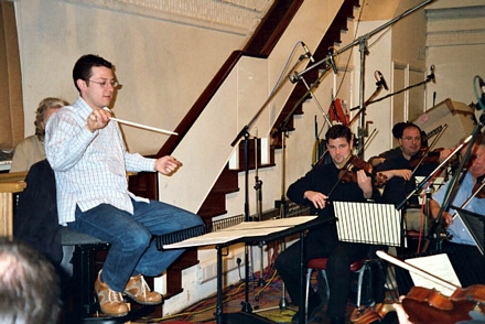 John Wilson conducting; leader Andrew Haveron