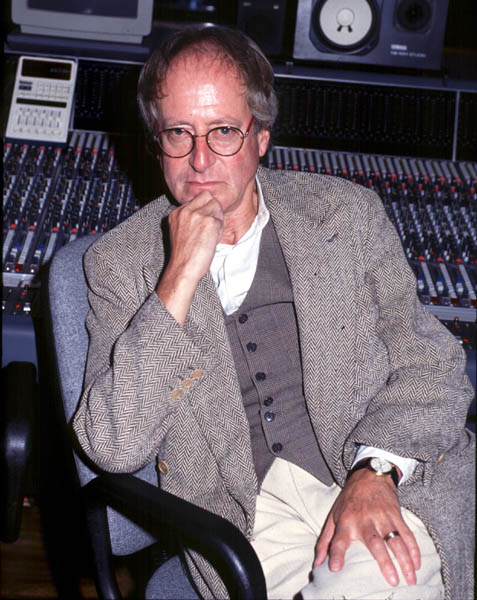 John Barry at CTS Studios, Wembley, 1991